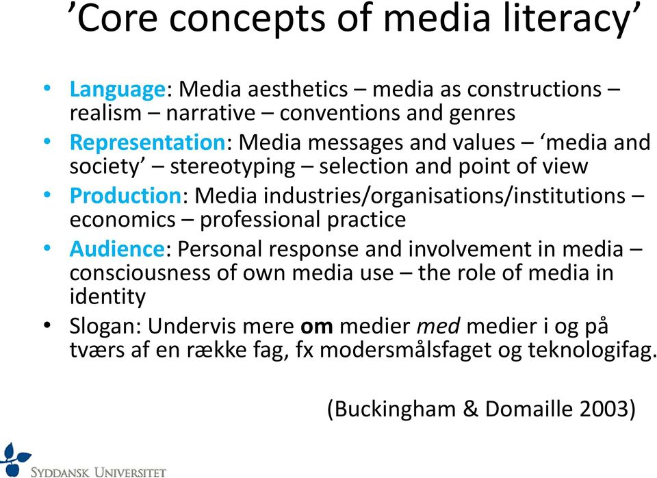 economics professional practice Audience: Personal response and involvement in media consciousness of own media use the role of media in