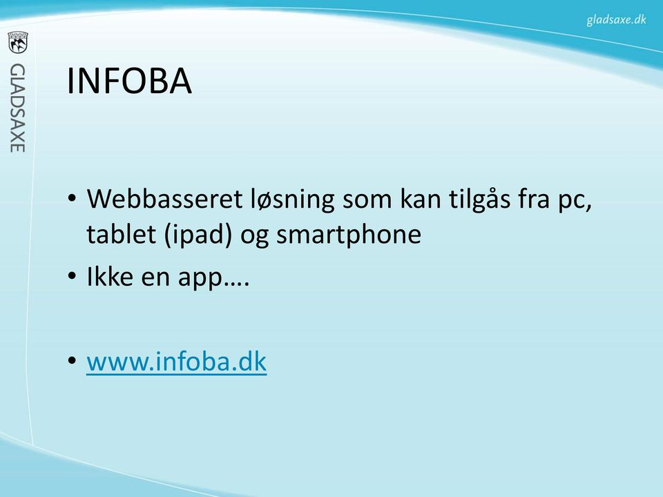 fra pc, tablet (ipad) og