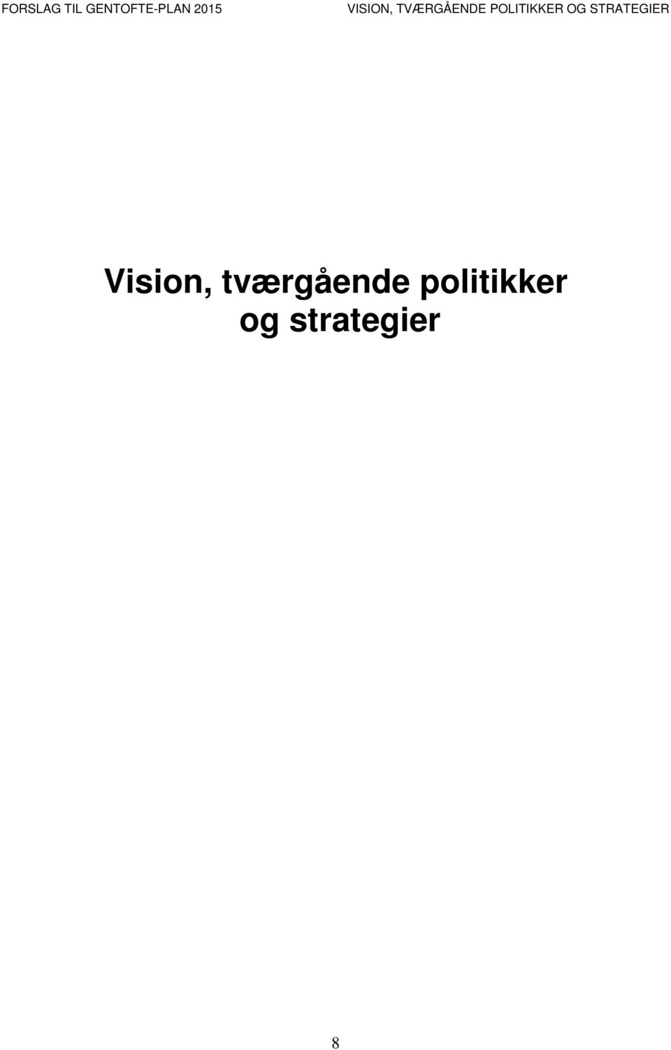 POLITIKKER OG STRATEGIER