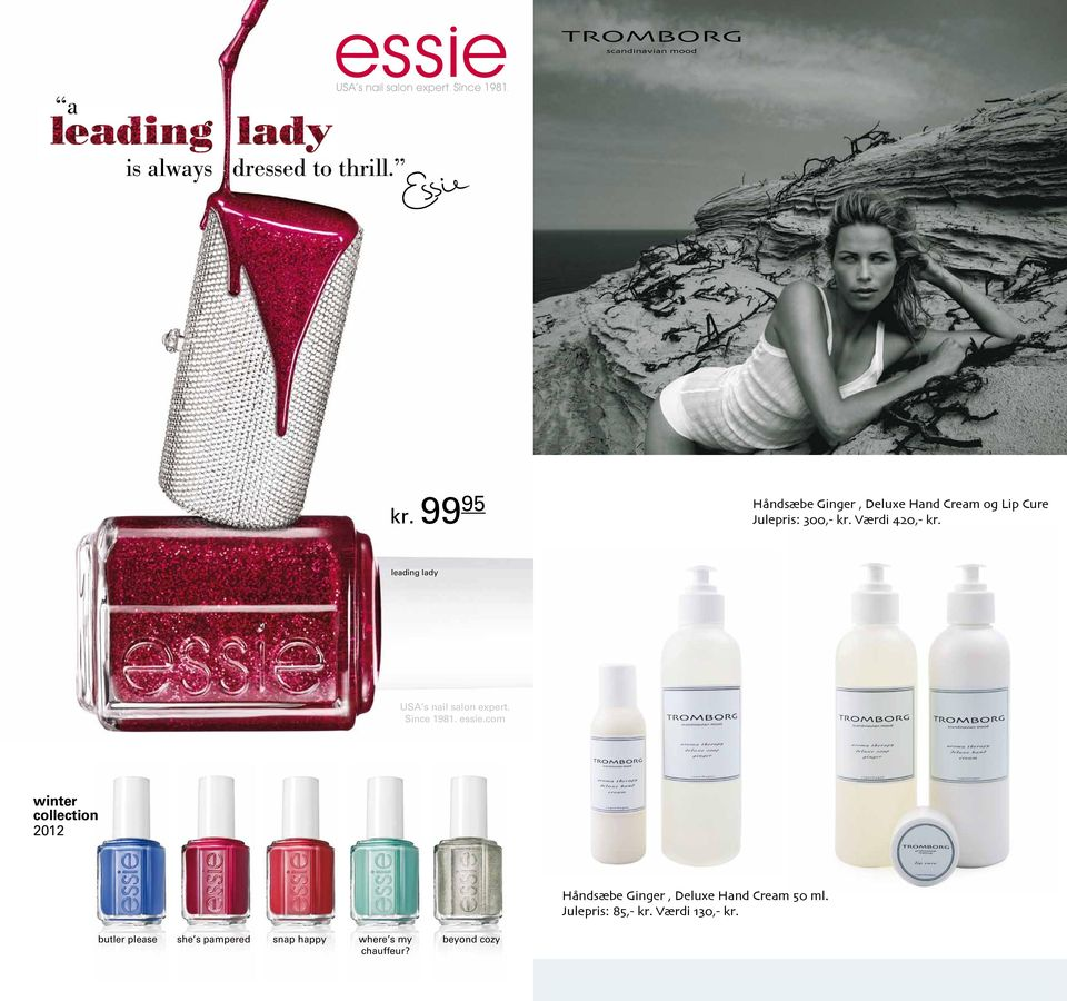 leading lady USA s nail salon expert. Since 1981. essie.