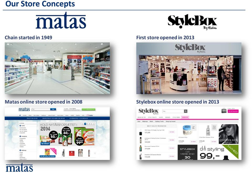 Matas online store opened in 2008