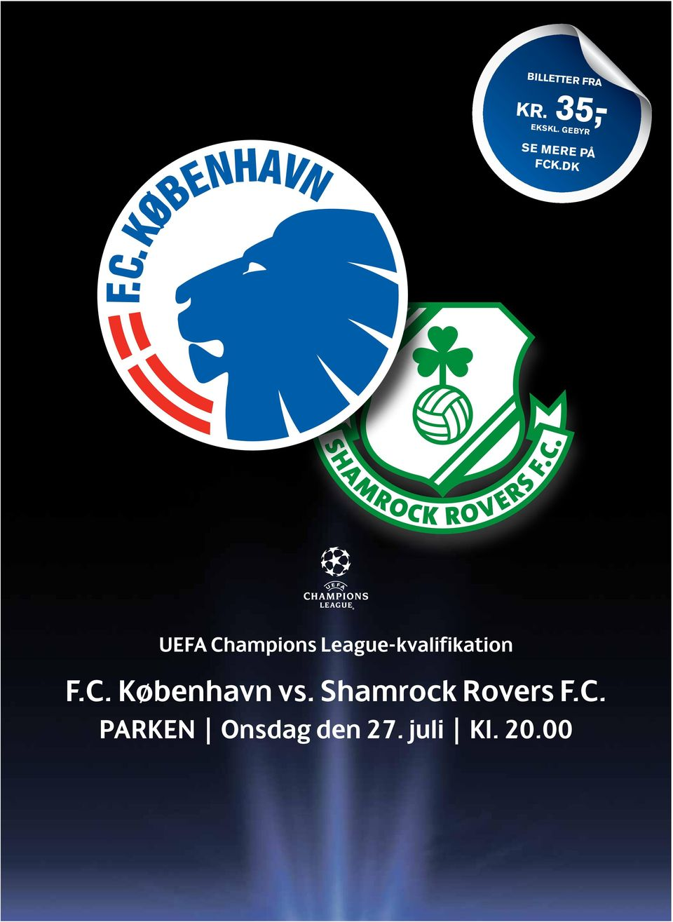 dk UEFA Champions League-kvalifikation F.