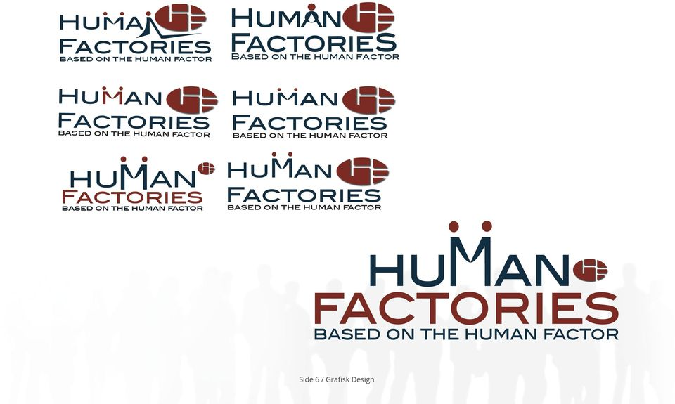 human factor HUMAN Factories based on the human factor Hu an Factories based