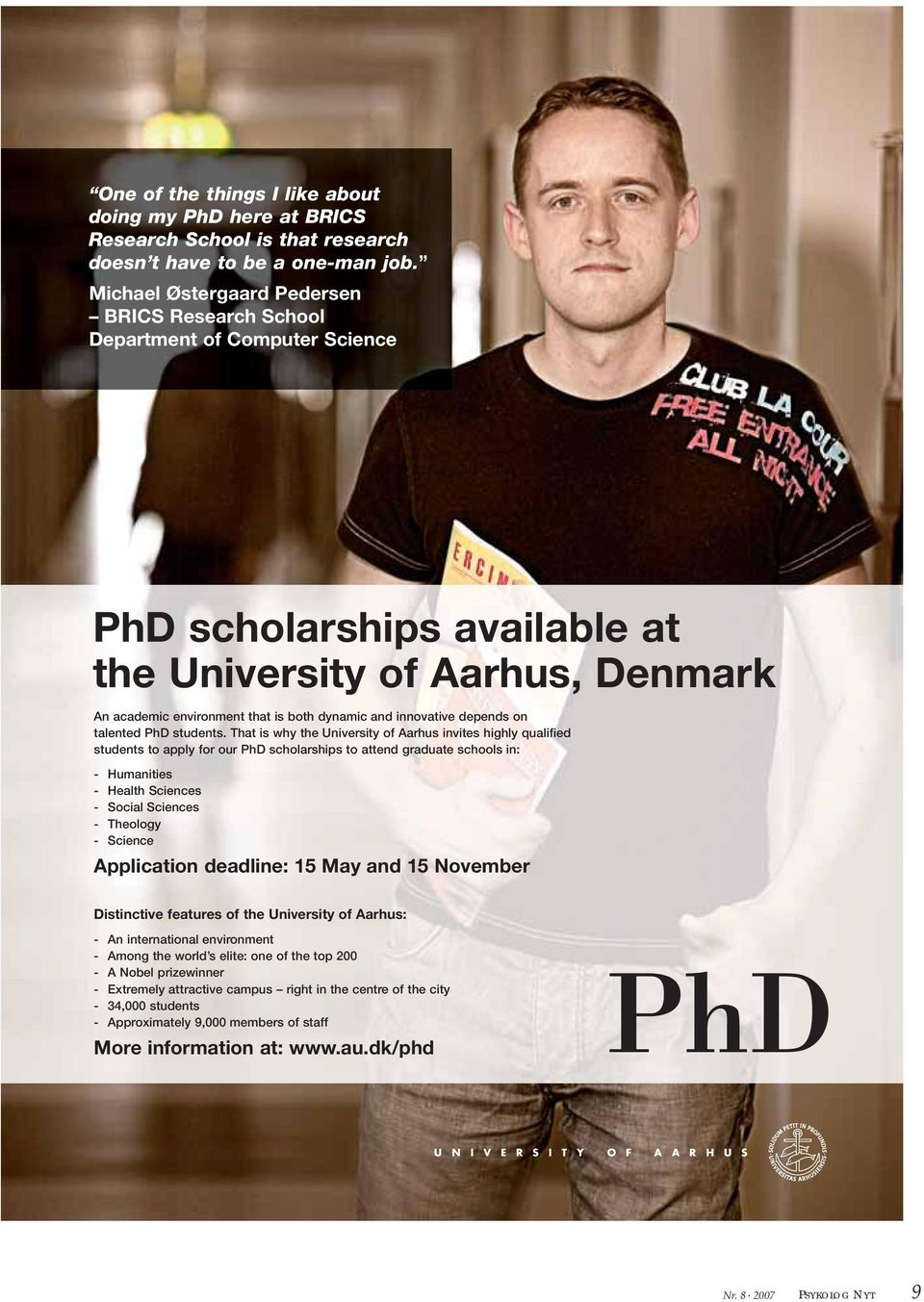 innovative depends on talented PhD students.
