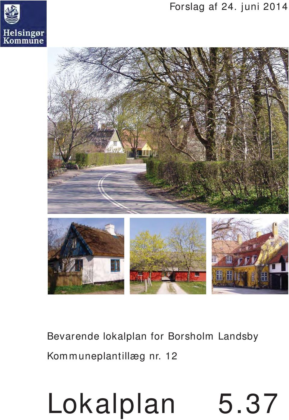 lokalplan for Borsholm
