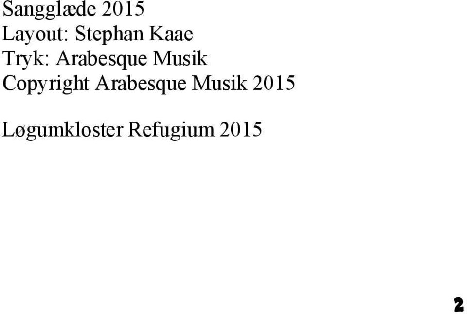 Musik Copyright Arabesque