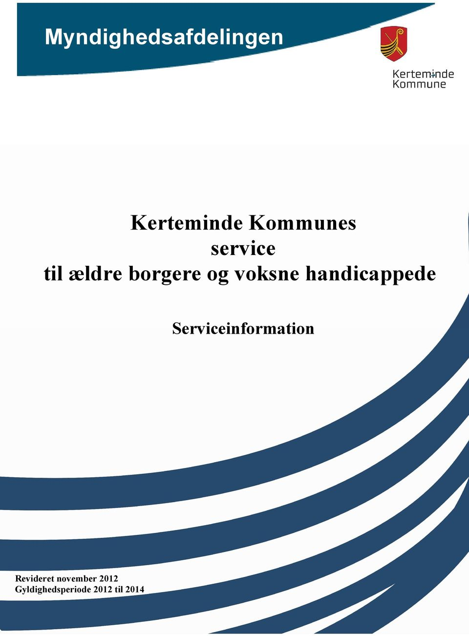 handicappede Serviceinformation