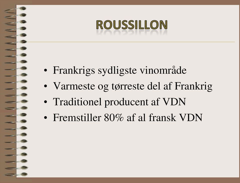 Frankrig Traditionel producent