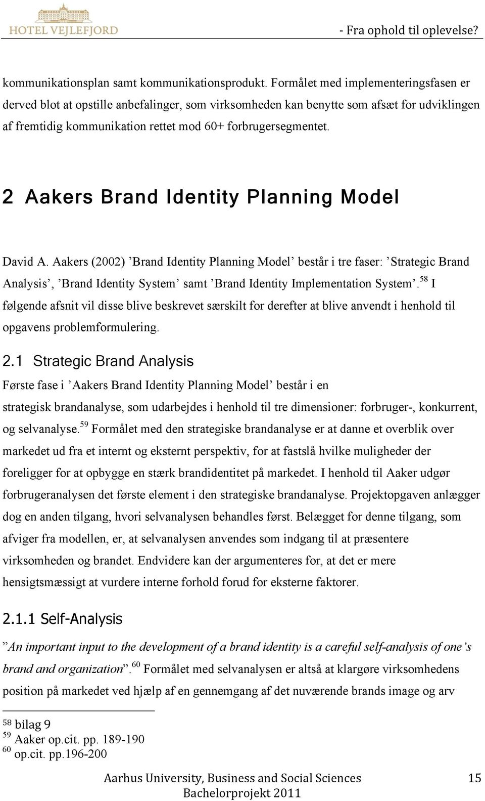 2 Aakers Brand Identity Planning Model David A.