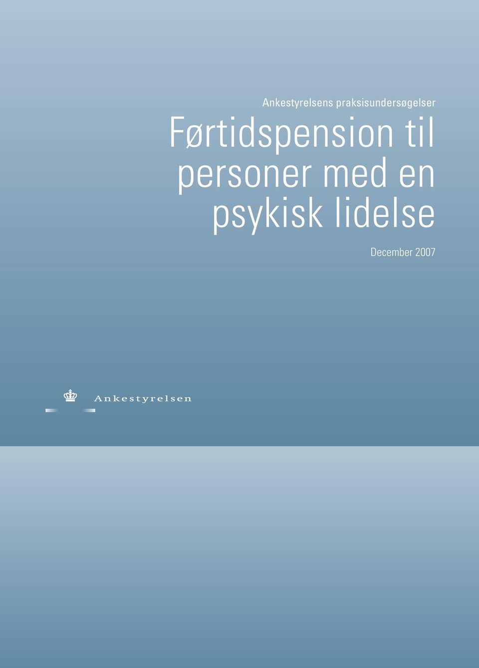 Førtidspension til