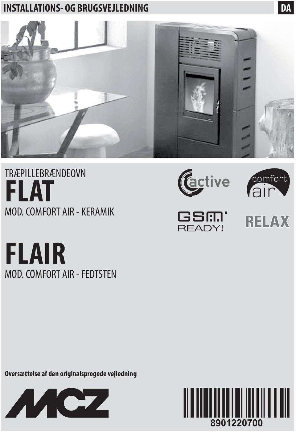 COMFORT AIR - KERAMIK FLAIR MOD.