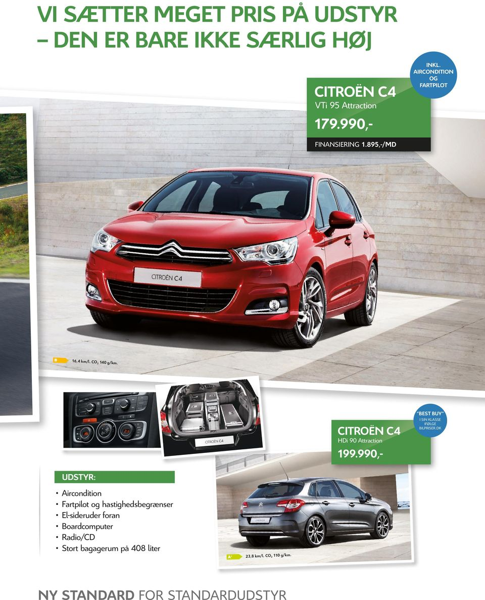 BEST BUY CITROËN C4 HDi 90 Attraction 199.