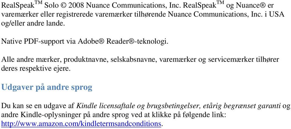 Native PDF-support via Adobe Reader -teknologi.