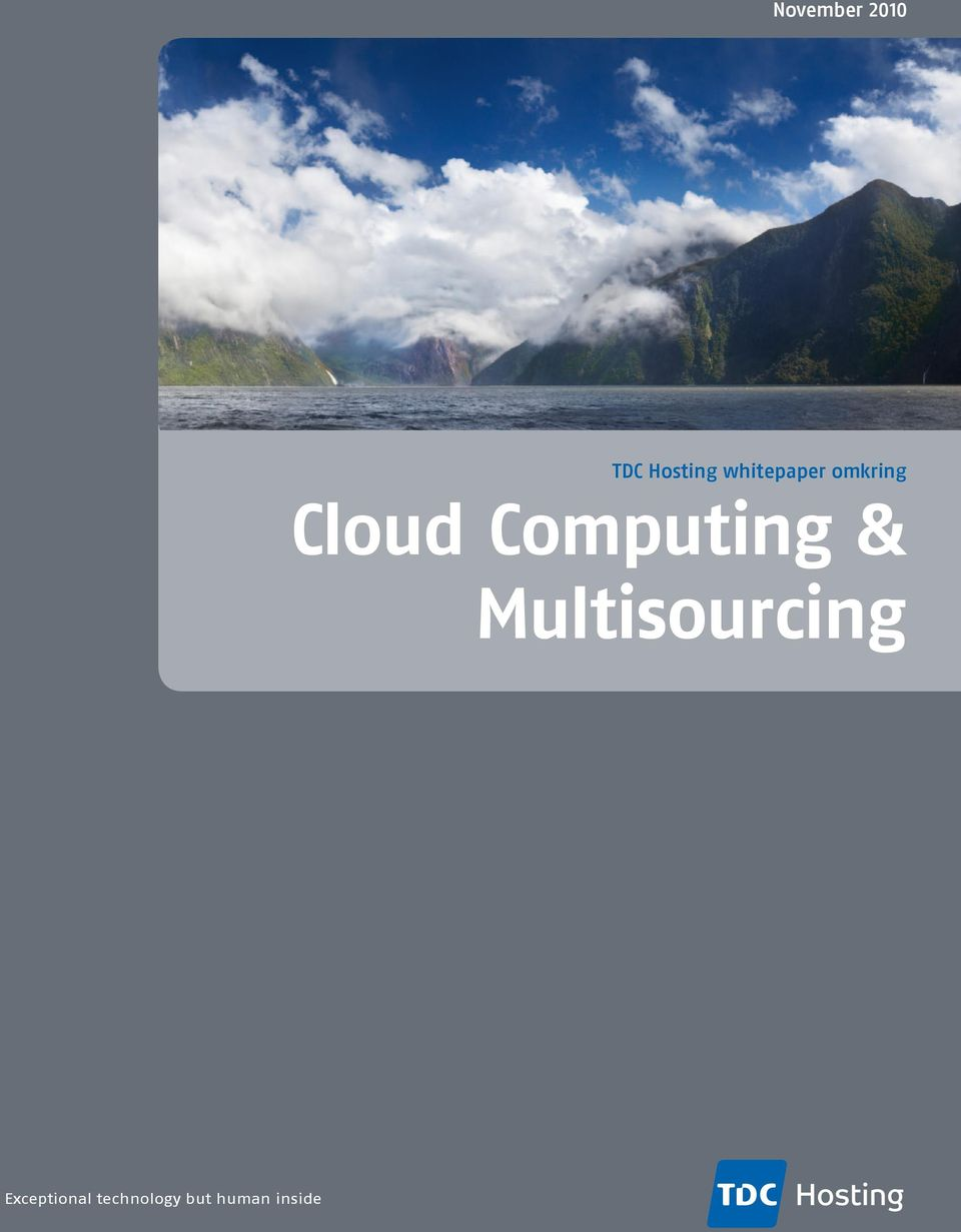Computing & Multisourcing