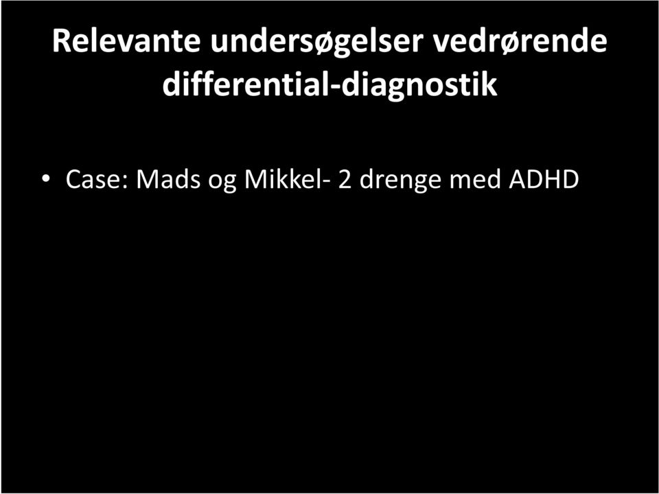 differential-diagnostik
