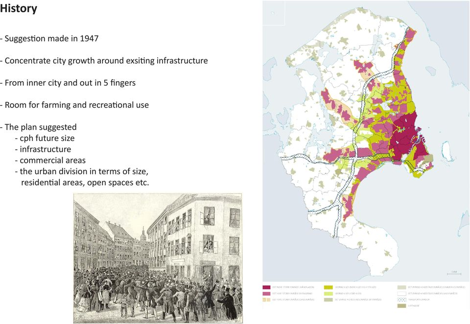 recreational use - The plan suggested - cph future size - infrastructure -
