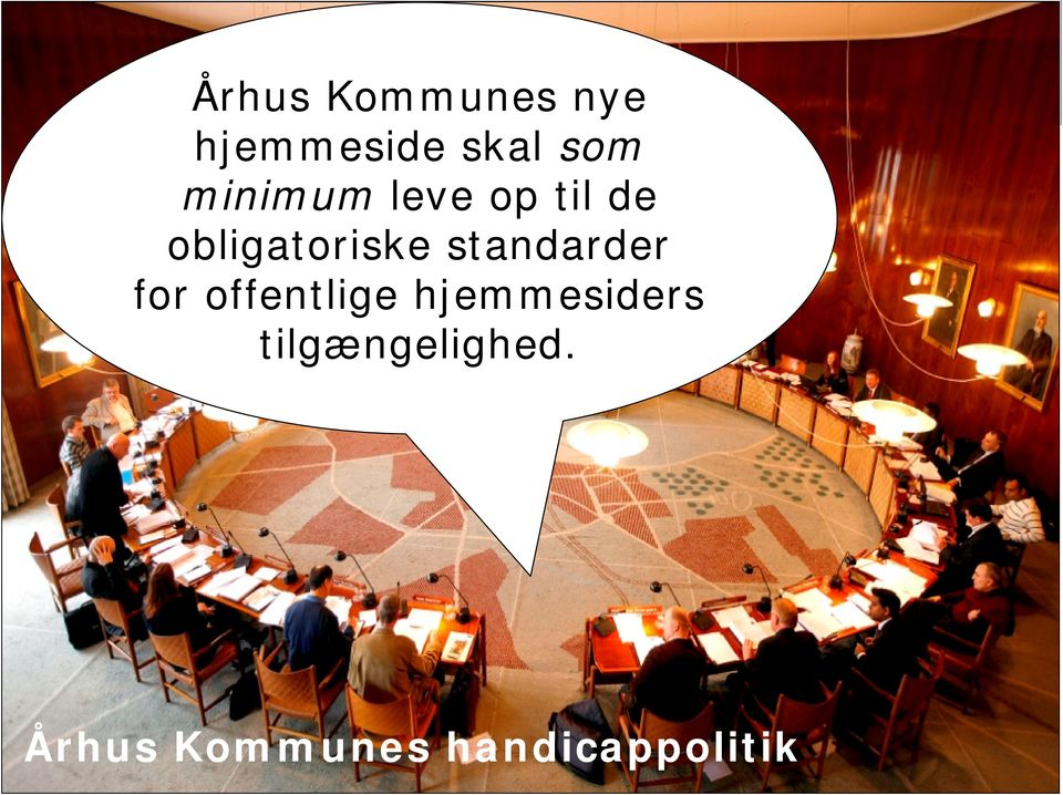 obligatoriske standarder for offentlige hjemmesiders