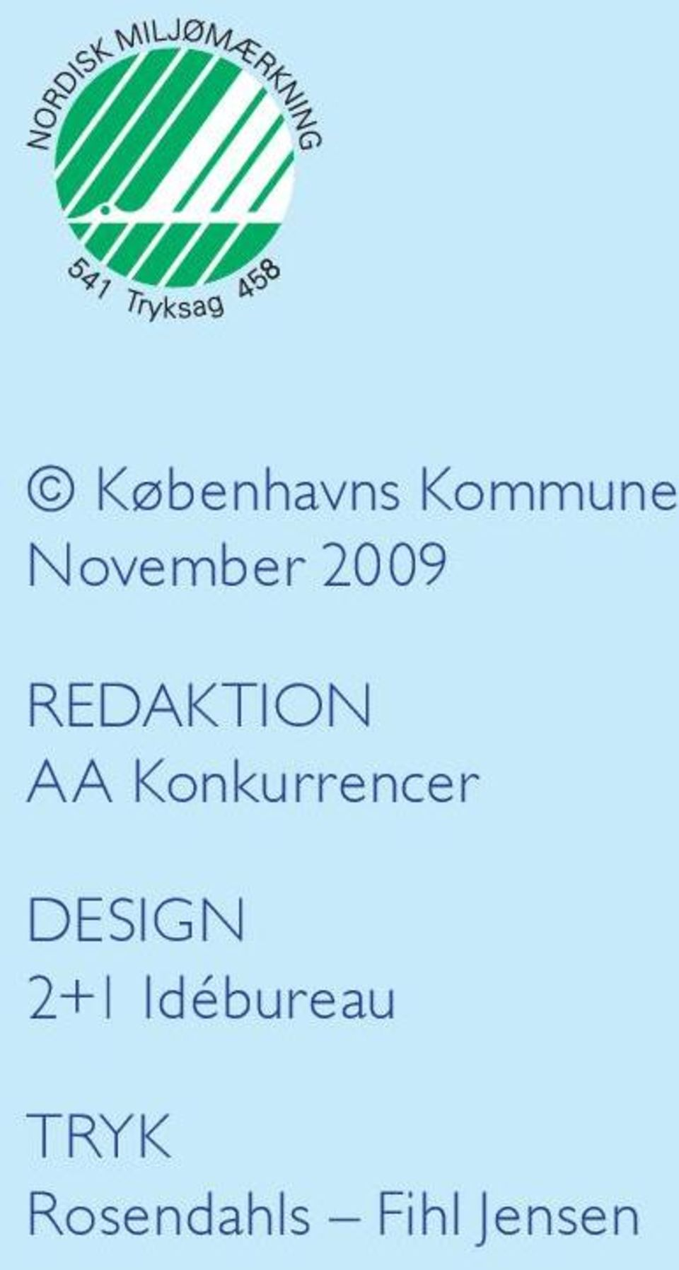 Konkurrencer Design 2+1
