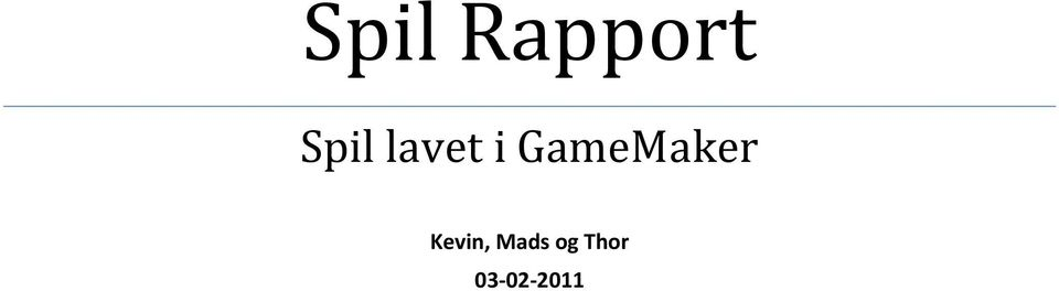 GameMaker Kevin,