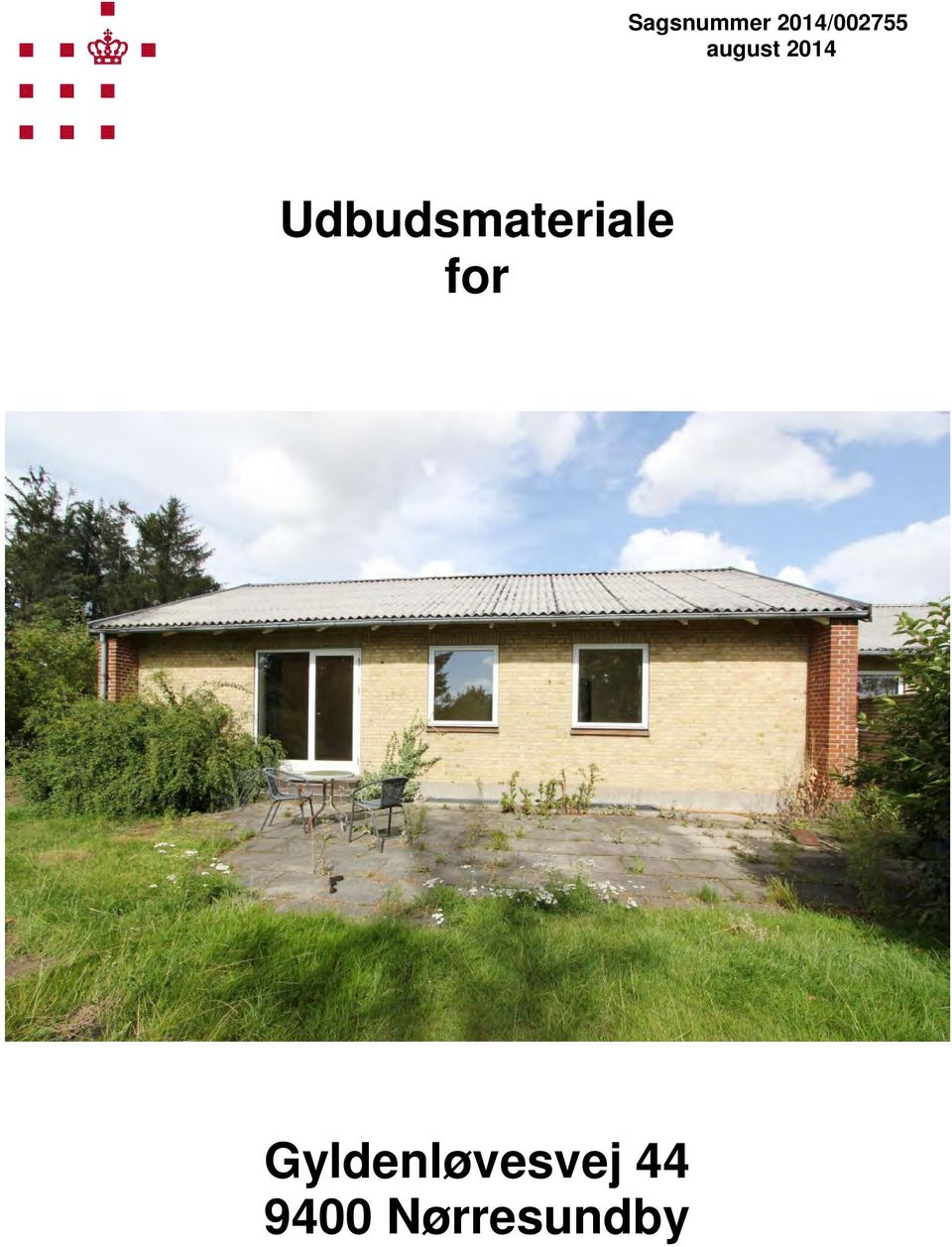 Udbudsmateriale for