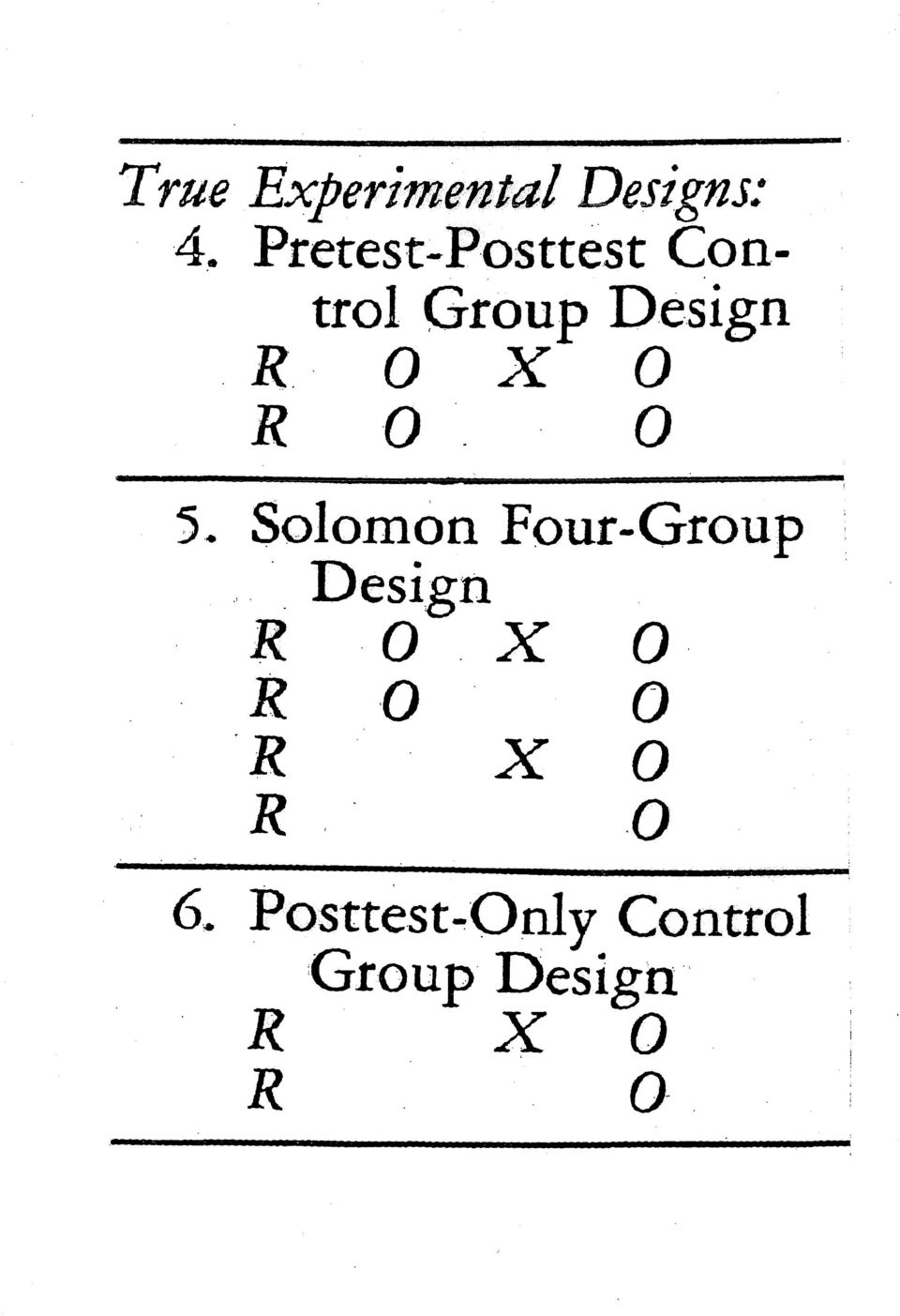 ' O X O R '0. O 5. Salomon Four-Group.