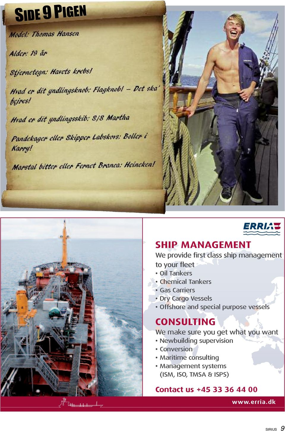 get what you want Newbuilding supervision Conversion Maritime consulting
