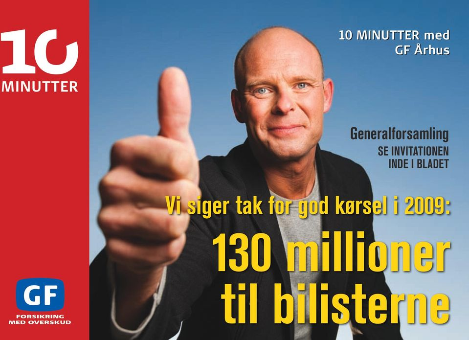 inde i bladet Vi siger tak for god