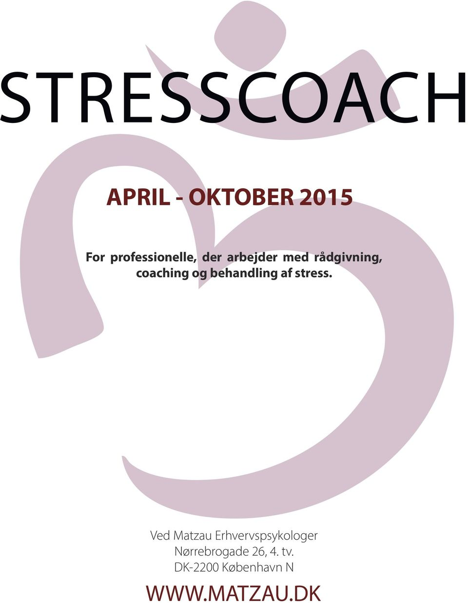 coaching og behandling af stress.