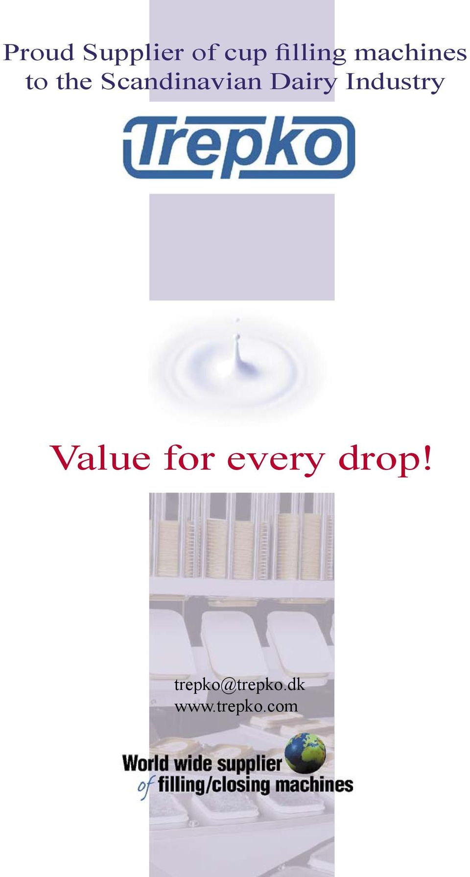 Industry Value for every drop!
