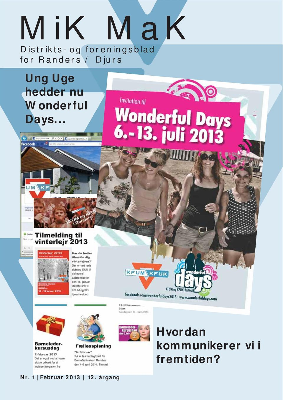 Wonderful Days... Nr. 1 Februar 2013 12.