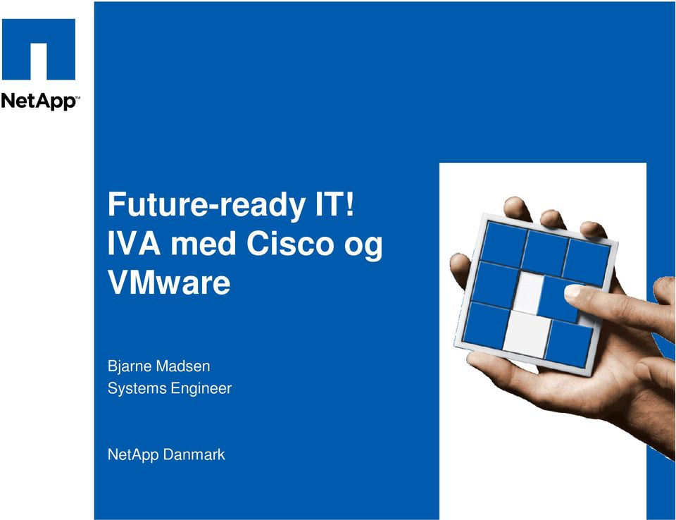 IVA med Cisco og VMware