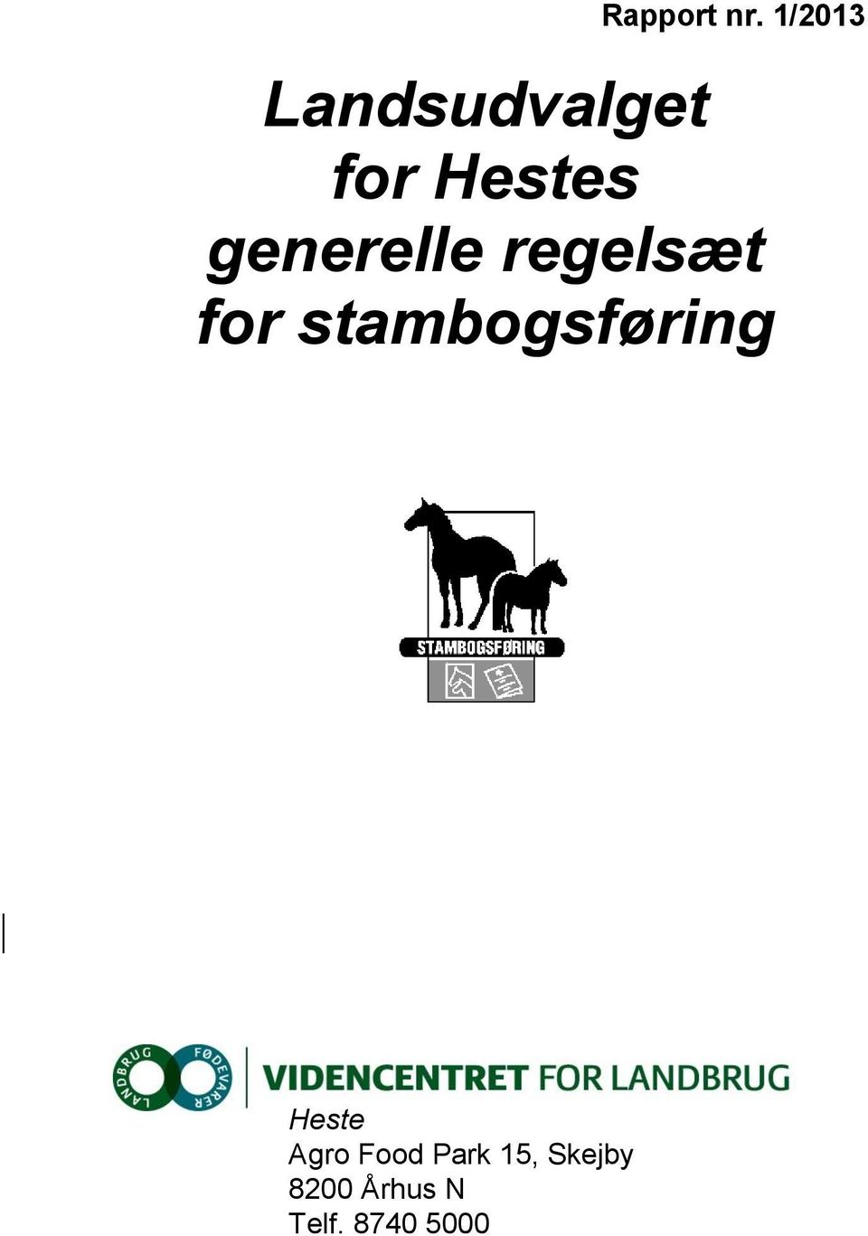 generelle regelsæt for