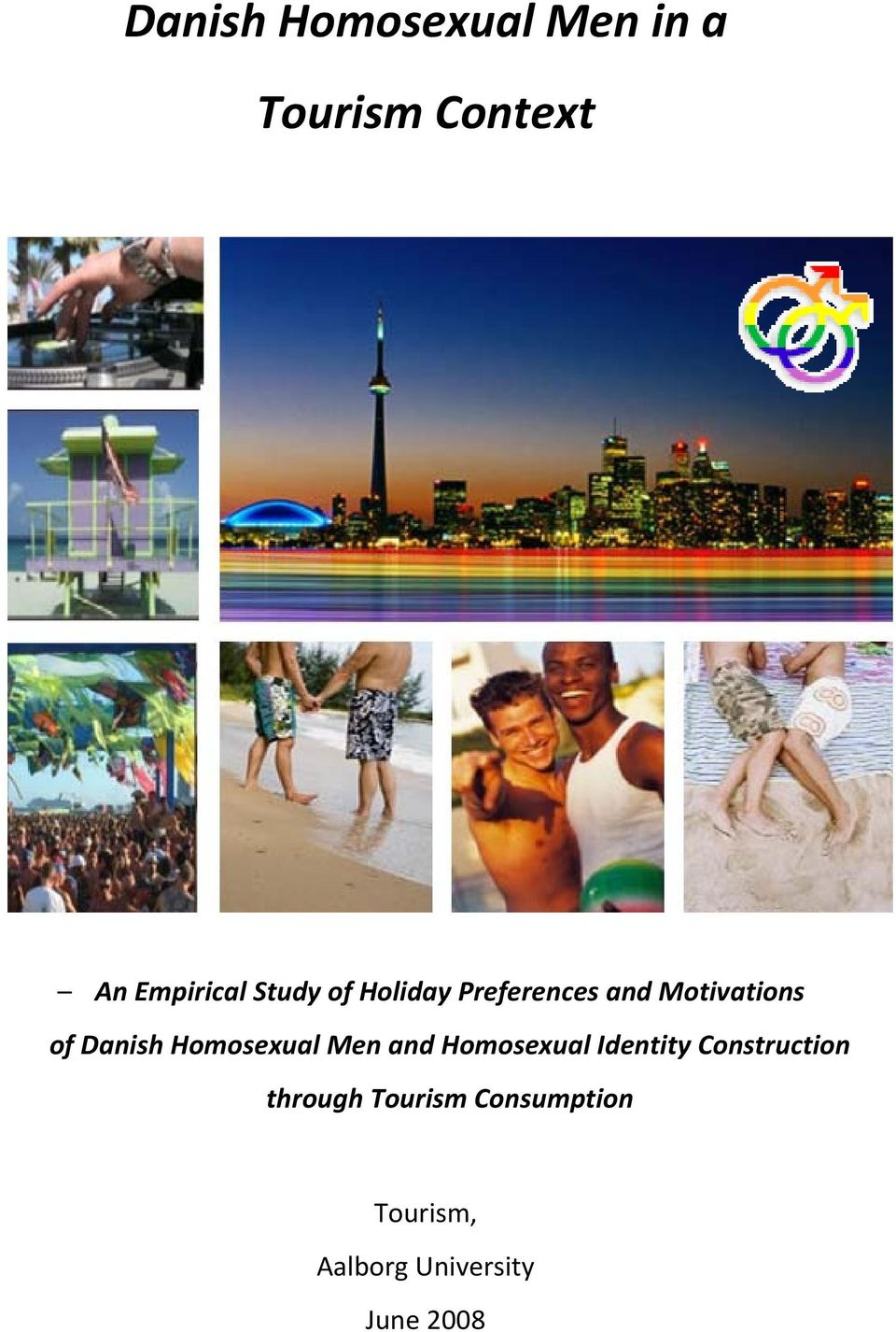 Homosexual Men and Homosexual Identity Construction