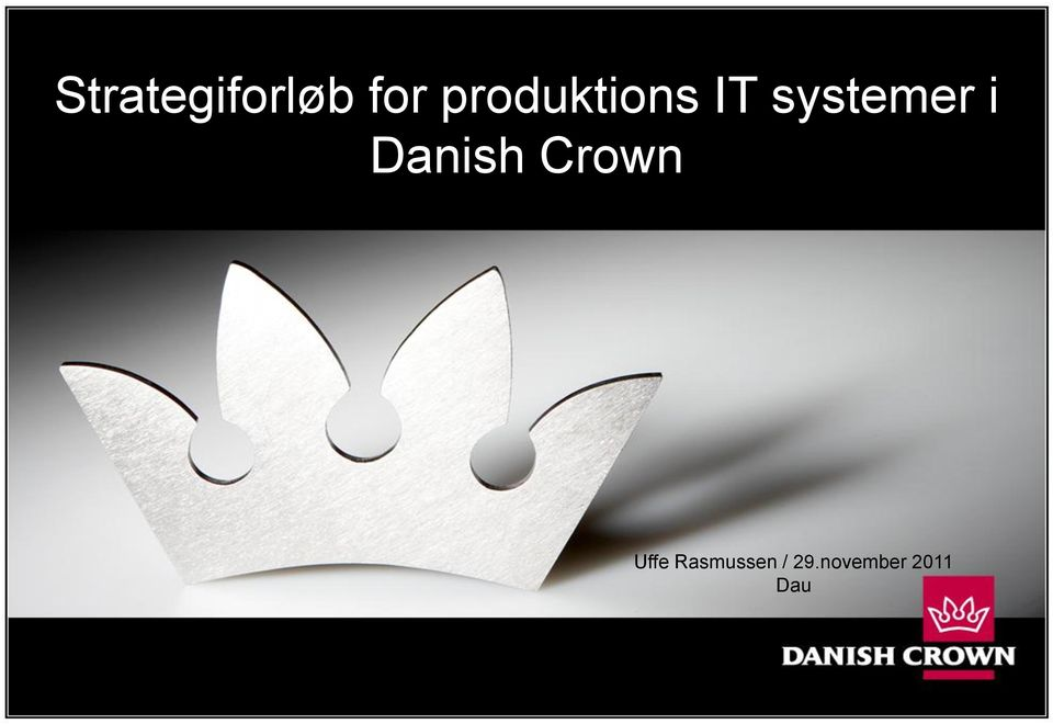 i Danish Crown Uffe
