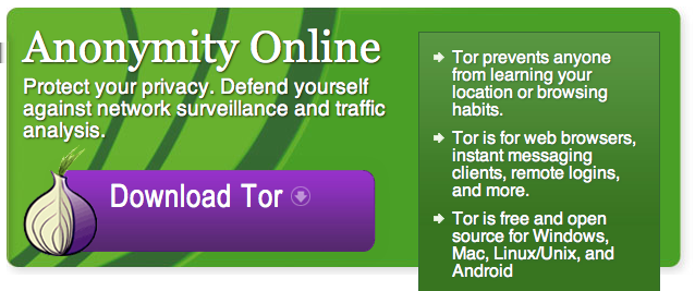 Tor project https://www.torproject.