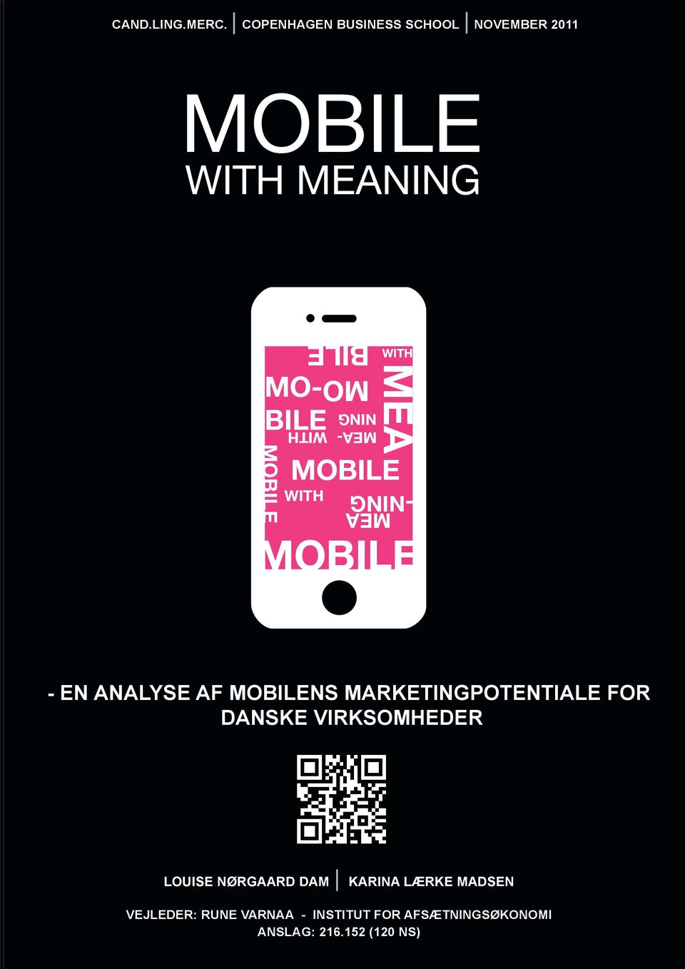 BILE MO- BILE WITH MOBILE MEA MEA -NING MOBILE - EN ANALYSE AF MOBILENS