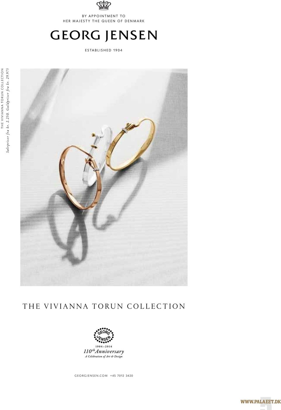 975 THE VIVIANNA TORUN COLLECTION GEORGJENSEN.