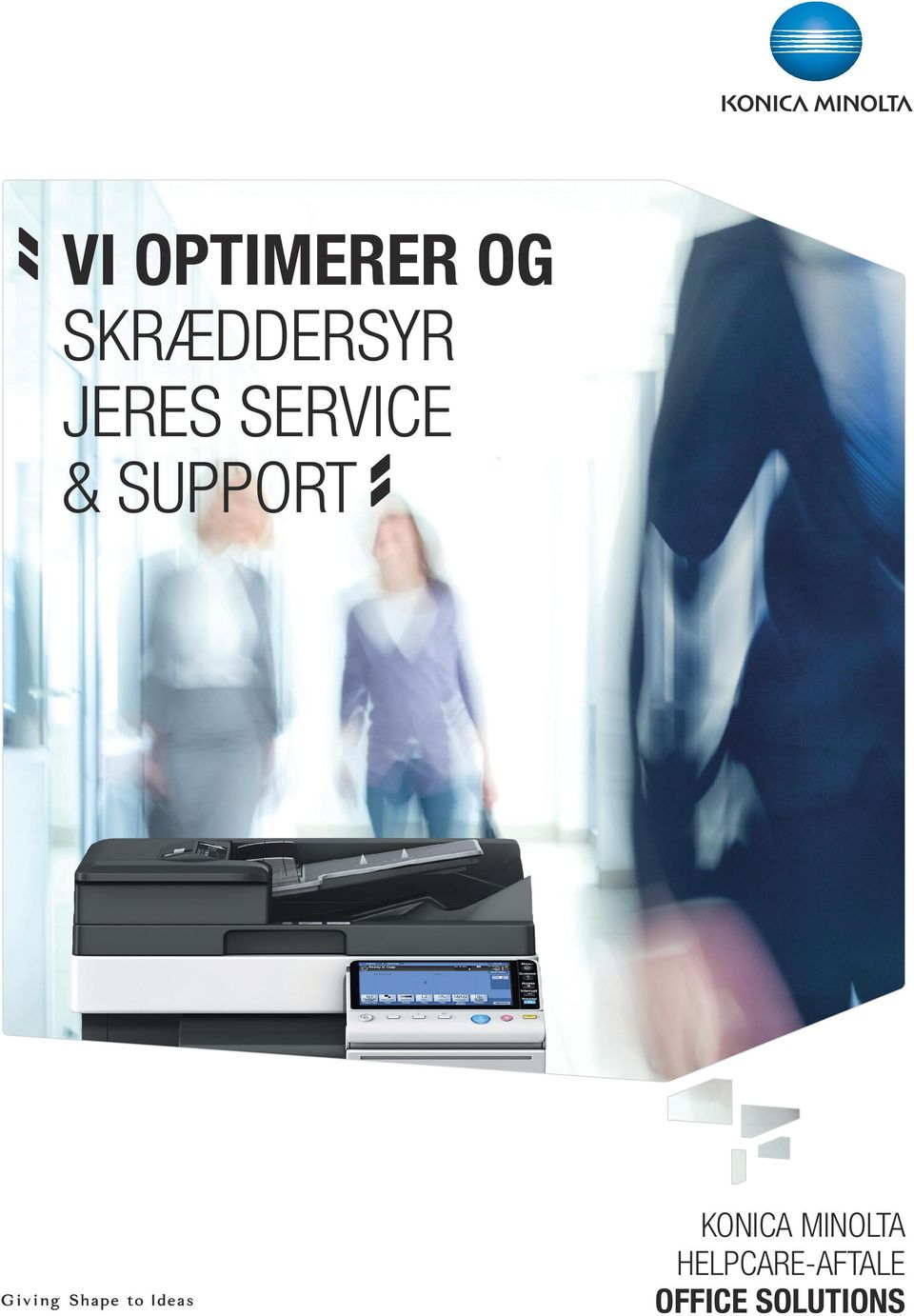 SERVICE & SUPPORT KONICA