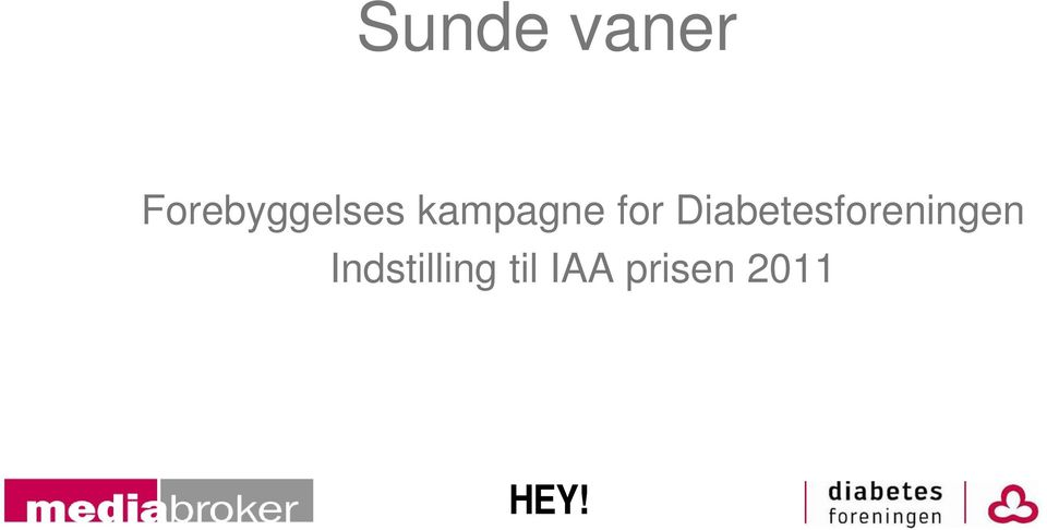 for Diabetesforeningen