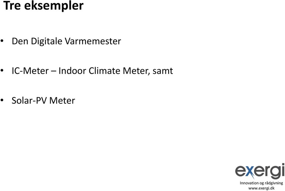 IC-Meter Indoor