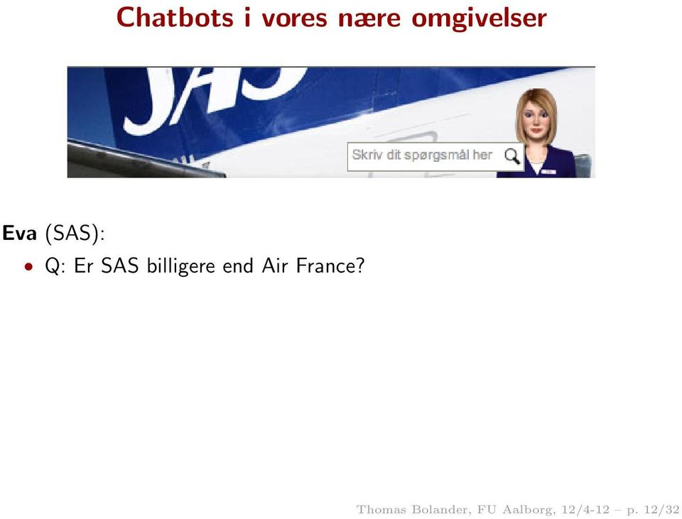 billigere end Air France?