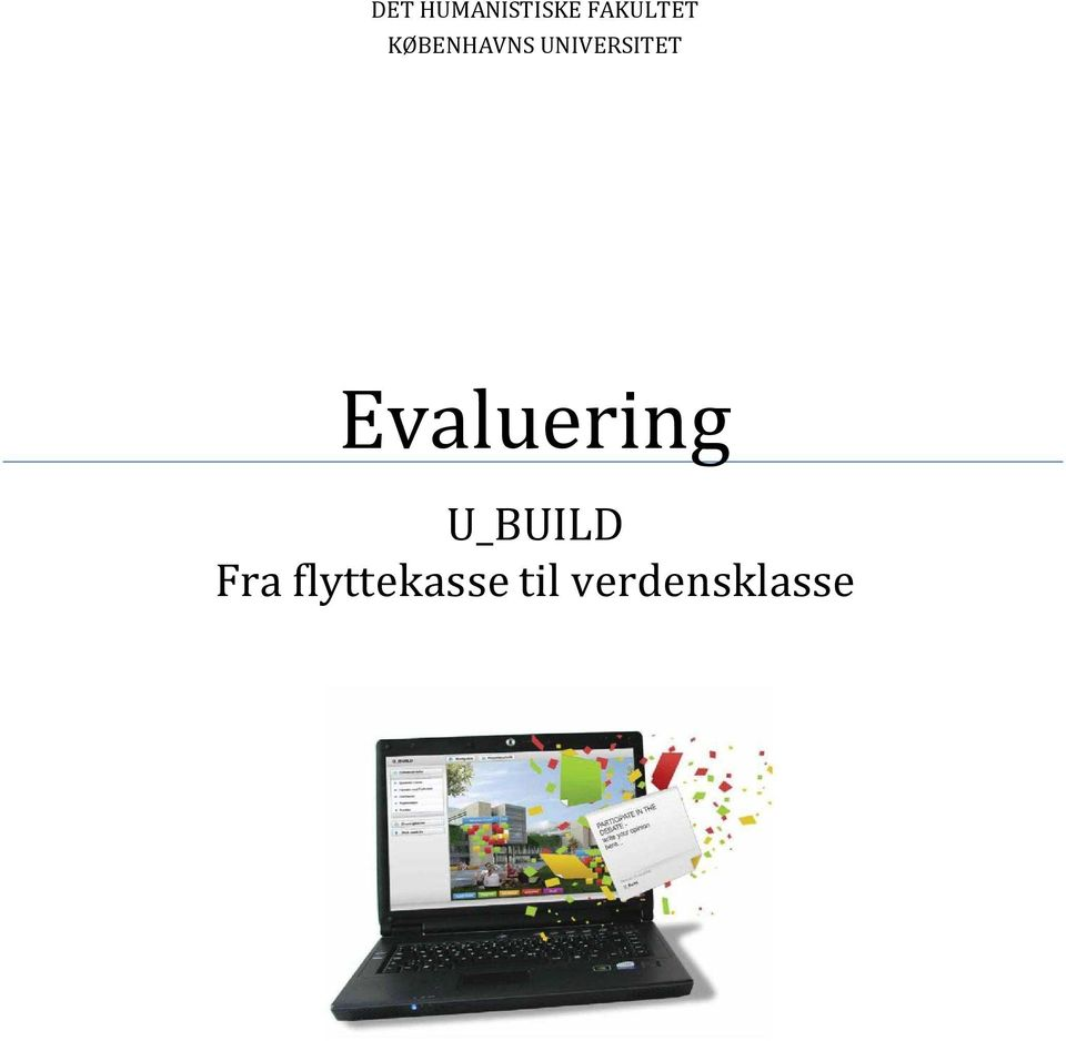 Evaluering U_BUILD Fra