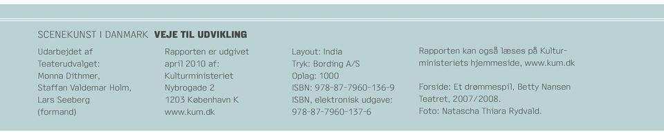 dk Layout: India Tryk: Bording A/S Oplag: 1000 ISBN: 978-87-7960-136-9 ISBN, elektronisk udgave: 978-87-7960-137-6