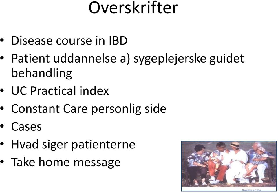 UC Practical index Constant Care personlig