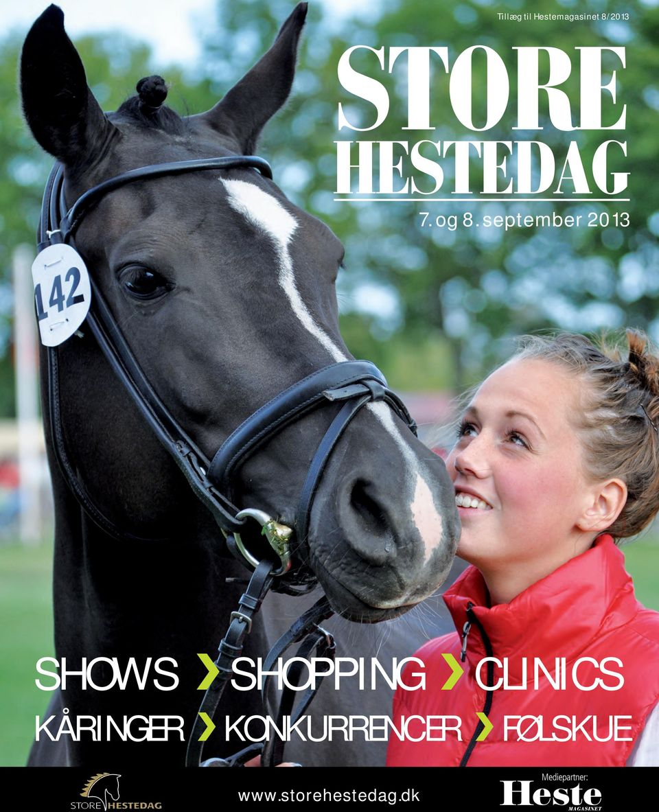 september 2013 SHOWS SHOPPING CLINICS
