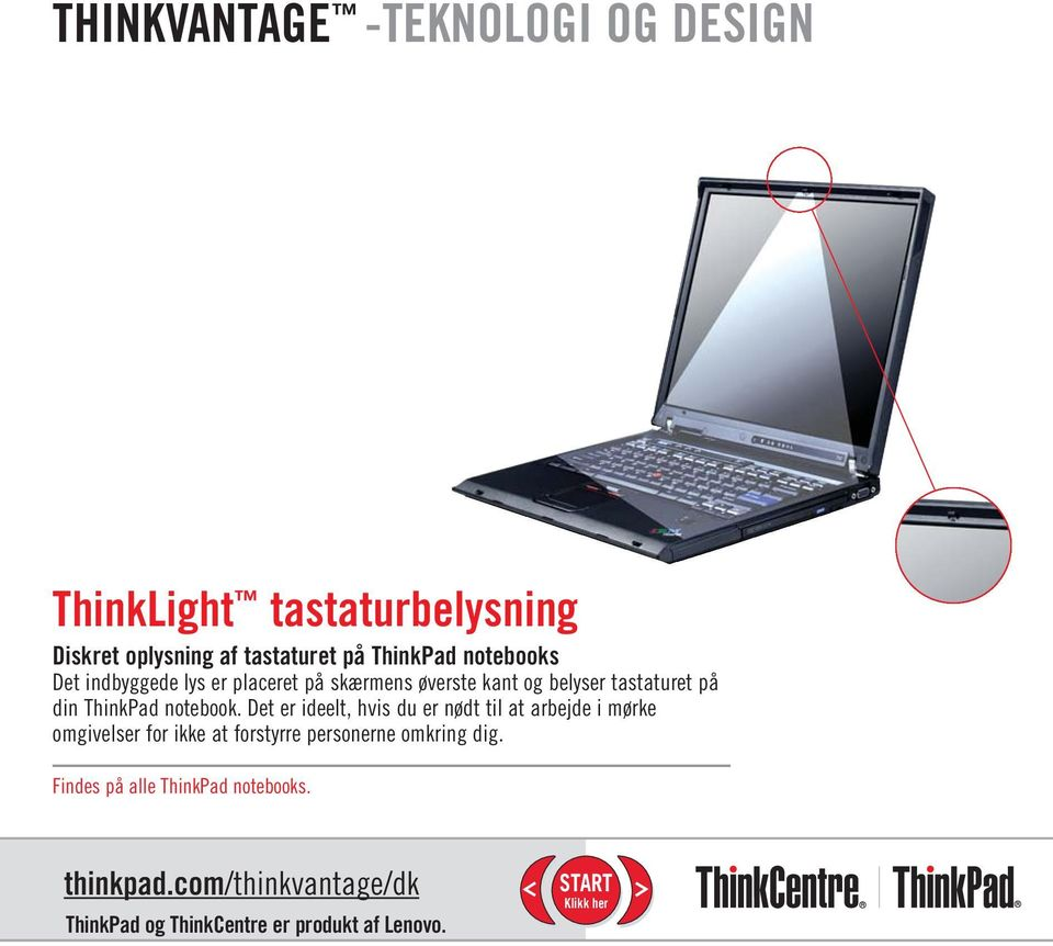 din ThinkPad notebook.