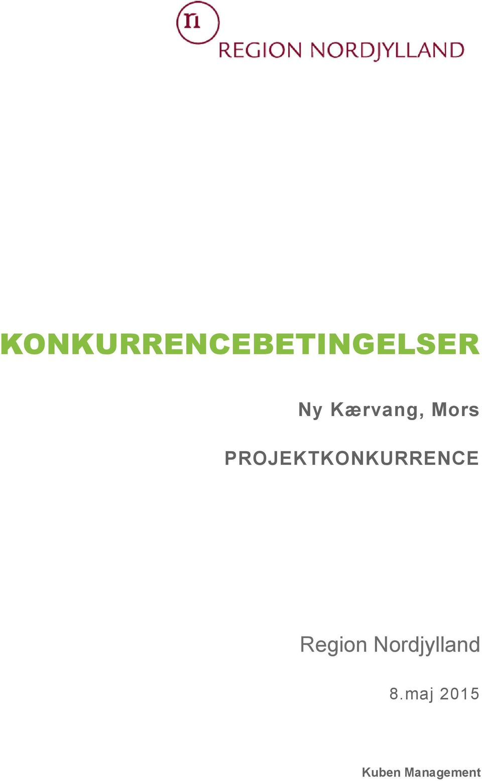 PROJEKTKONKURRENCE Region