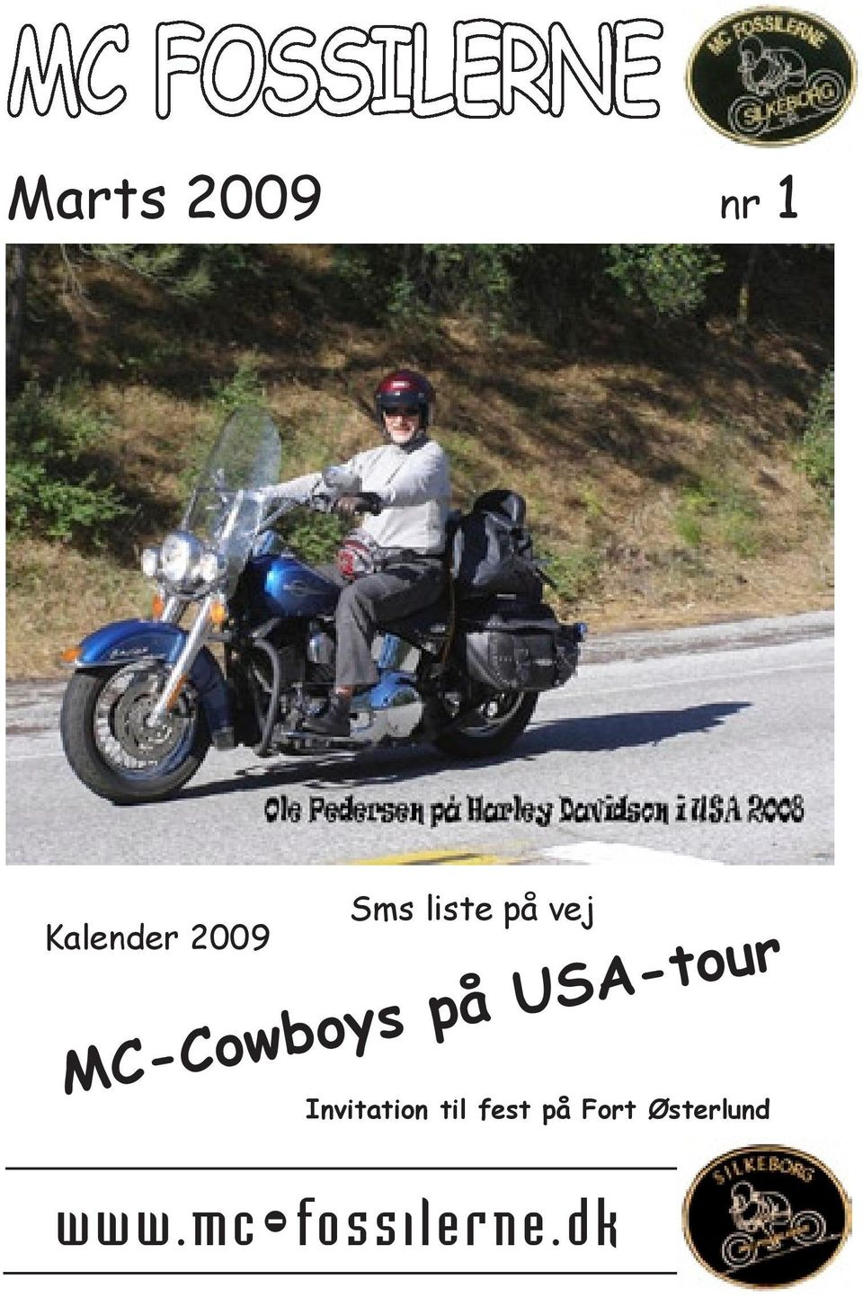 USA-tour Invitation til fest på