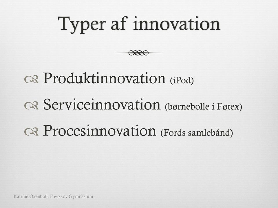 Serviceinnovation (børnebolle