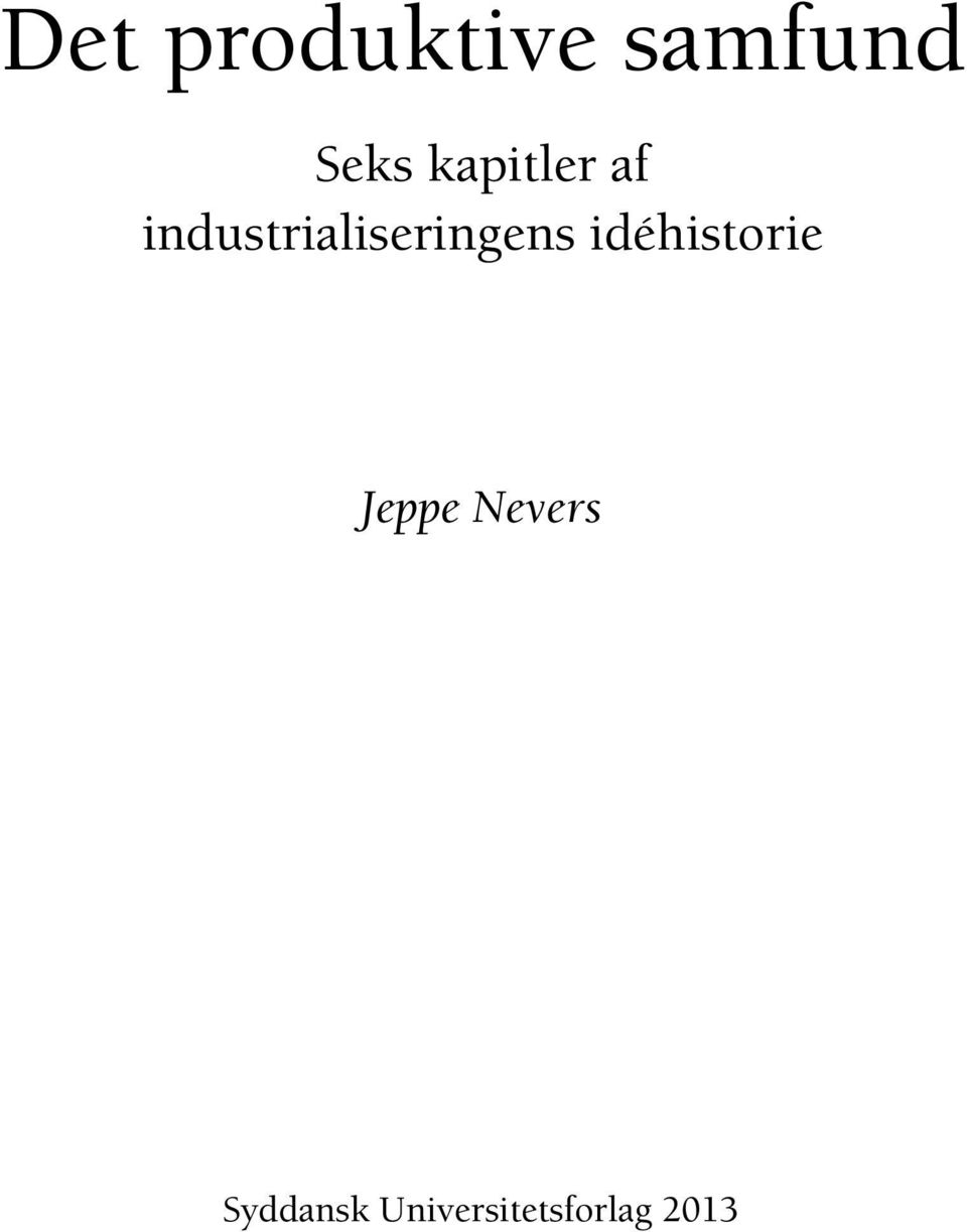 industrialiseringens